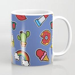 Retro mix pattern Coffee Mug