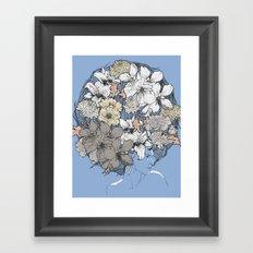 INSIGHT BLOOM Framed Art Print