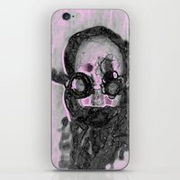 steampunk iPhone & iPod Skins featuring SteamPunk by AnniarchyDesigns