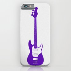 Minimalistic Bass Guitar iPhone 6s Slim Case