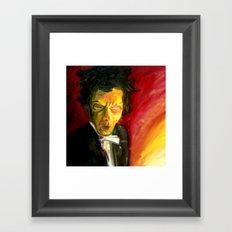 Mr. Waits Framed Art Print