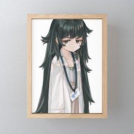 Maho Hiyajo - Steins Gate Framed Mini Art Print