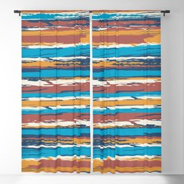 Tuscan painted summer Blackout Curtain