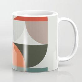Mid Century Geometric 14 Coffee Mug