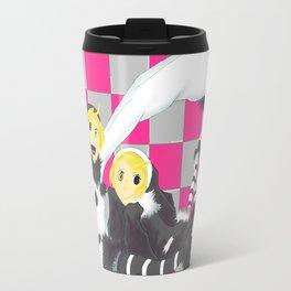 Loki and Noki (BW) Travel Mug