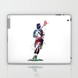 Lacrosse player art 2 Laptop & iPad Skin
