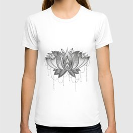 Zentangle Lotus Mandala T-shirt