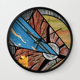 Angles of Nature ~ Design 01 Wood Wall Clock