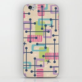 Mid Century Modern Abstract Pattern 775 iPhone Skin