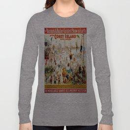 Vintage poster - Circus Langarmshirt