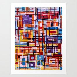 Concealed Mindfulness Art Print