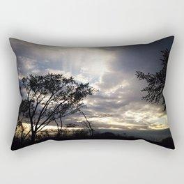 Peaceful and powerful sunset Rectangular Pillow