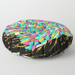 Scatter Gold Floor Pillow