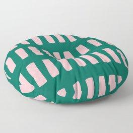 Handrawn Boho Rectangles No 03 Floor Pillow