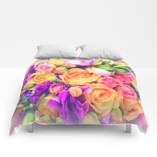 Roses 1 Comforters