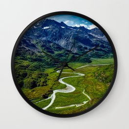 Down In The Valley Wall Clock
