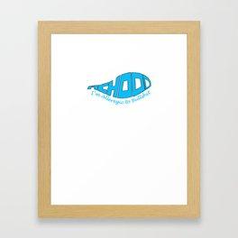 Achooo....I'm Allergic to Bullshit2 Framed Art Print