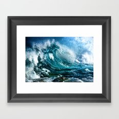 Waves MIX Framed Art Print