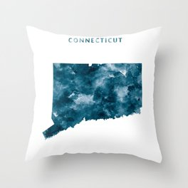 Connecticut Throw Pillow