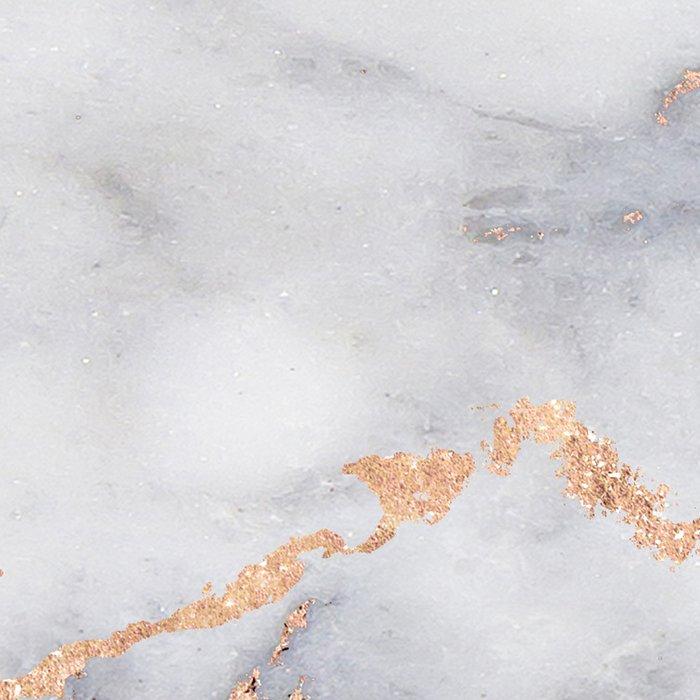 Gray Marble Rosegold  Glitter Pink Metallic Foil Style Leggings