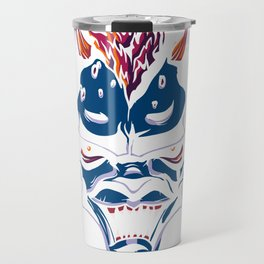Blue Demon Travel Mug