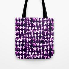 Parallel Purple Tote Bag