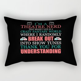 Movies Movie Cinema Actor Gift Series Rectangular Pillow