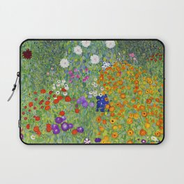 Flower Garden - Gustav Klimt Laptop Sleeve