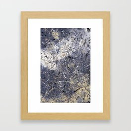 Orion - abstract painting by Rasko Framed Art Print