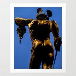 Perseus and Medusa. Art Print