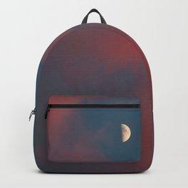 Cloud Bleeding Mars for Moon Backpack