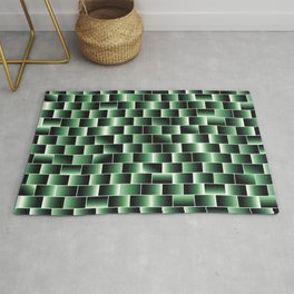 Green set of tiles - movie style Rug