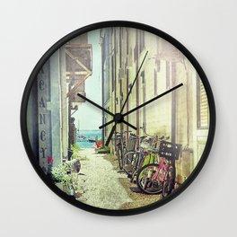 Vacancy at Provincetown Wall Clock