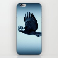 eagle iPhone & iPod Skins featuring eagle by Bunny Noir