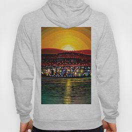 Angel Island Sunset (Square) Hoody