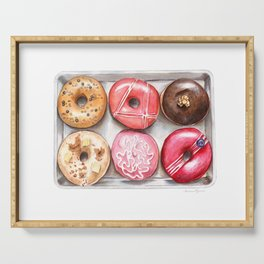 Glorious Glazed Donuts Serving Tray