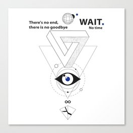 M83 - Wait.mp3 Canvas Print