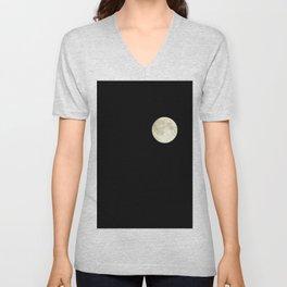 The moon over my balcony Unisex V-Neck