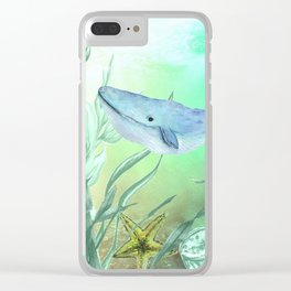 Underwater World **5 Clear iPhone Case