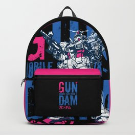 033 Gundam Fluo Blue Backpack