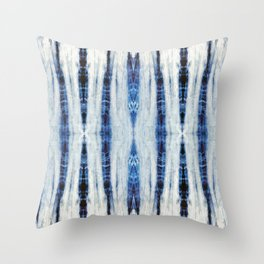 Nori Blue Throw Pillow