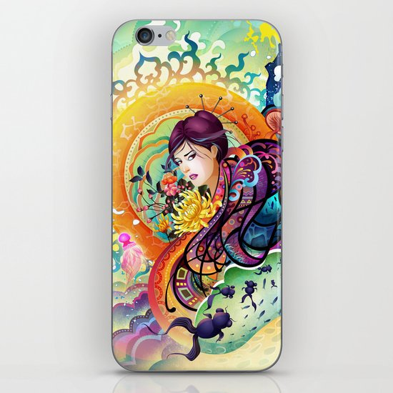 Trance iPhone & iPod Skin