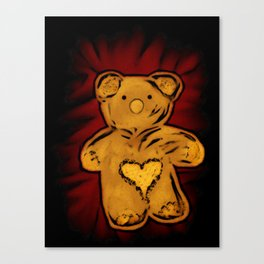 Teddybear Canvas Print