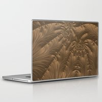 renaissance Laptop & iPad Skins featuring Renaissance Brown by Charma Rose
