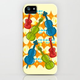 Sunny Grappelli String Jazz Trio Composition iPhone Case