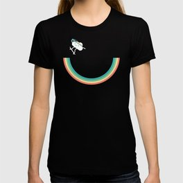 Skateboarding cloud T-shirt