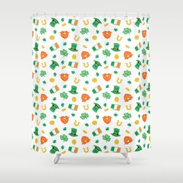 St Paddy's Day Shower Curtain