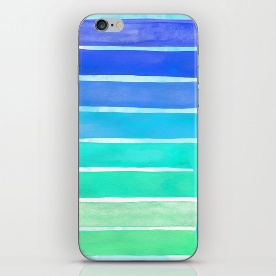 Ocean Blue iPhone & iPod Skin