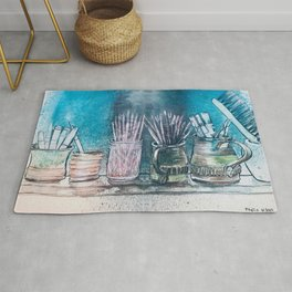 The Artist's Shelf Rug