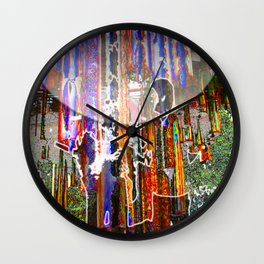 The Moon Looked Down Wall Clock